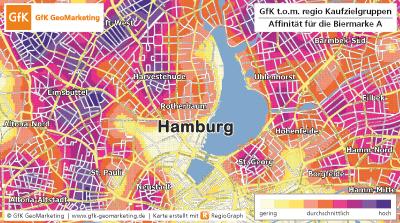 """GfK-Studie """"t.o.m. regio"""" zeigt regionale Kaufzielgruppen - GfK GeoMarketing"""