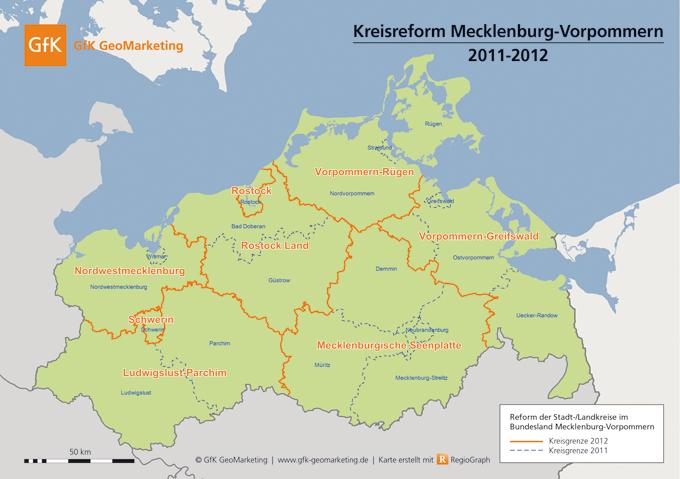 Karten für Deutschland, Österreich und die Schweiz auf Stand 2012 - GfK GeoMarketing