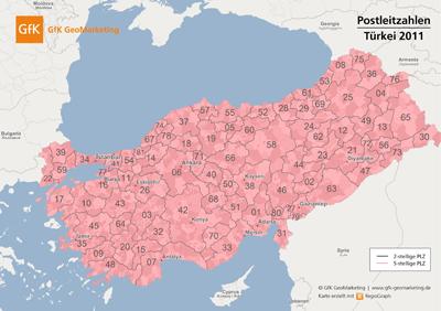 GfK Europa-Karten 2011 / 2012 - GfK GeoMarketing