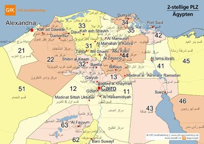 Neue digitale Karten für Afrika 2011 - GfK GeoMarketing