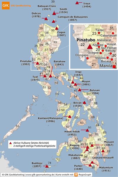 Neue GfK-Landkarten für die Philippinen: Zuverlässige Basis für das Risiko-Management